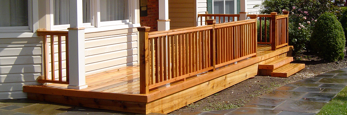 Nassau Suffolk Queens Long Island Cedar Deck Installer