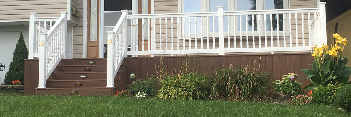 Nassau Suffolk Queens Long Island Deck Rail Railing Installer