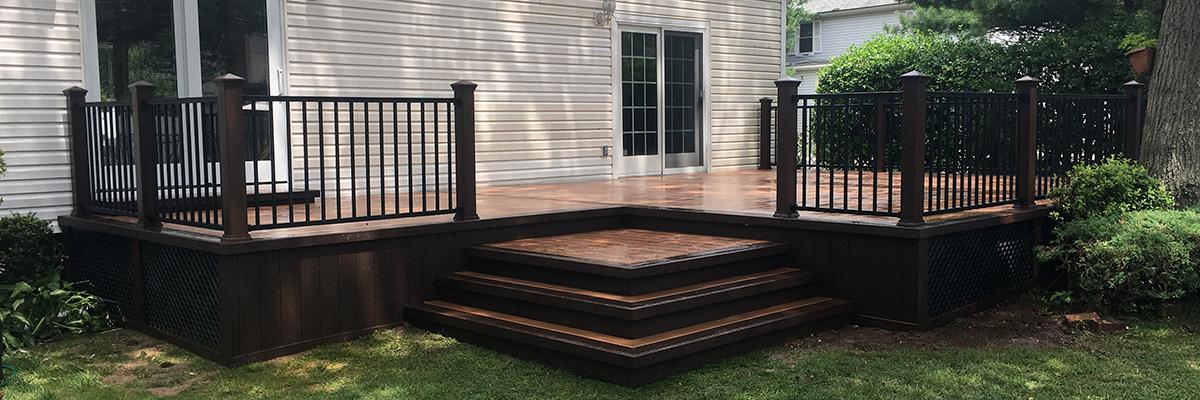 Nau Suffolk Queens Long Island Trex Deck Installer