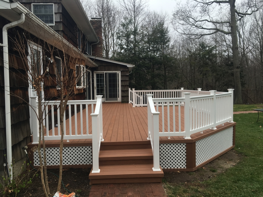 Long Island Azek Decking And Railing Installer